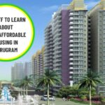 7 stuff to learn about HUDA Affordable Housing in Gurugram